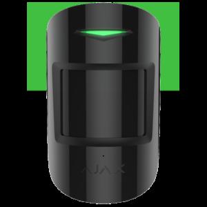 Беспроводной датчик движения и разбития стекла Ajax CombiProtect